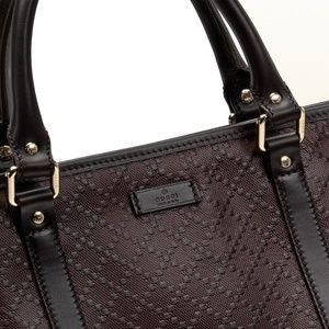 a6b645c1327 Gucci Bags - Gucci GG Diamante Leather Top Handle Large Tote